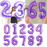 40 inch Number Foil Balloons Digit Helium Ballons Wedding Birthday Party Decor