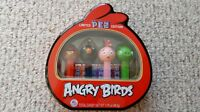PEZ Dispenser ANGRY BIRDS Sealed Gift Tin NEW - FREE SHIPPING