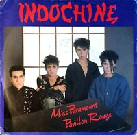 45 TOURS 7'' SINGLE INDOCHINE MISS PARAMOUNT RARE COLLECTOR BON ETAT 1983