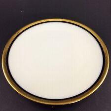 Hutschenreuther - Carolus Magnus Kobalt - Gold. - Teller Platte ø 25,1 cm #7246