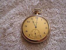 Antique Waltham Pocket Watch Wadsworth Referee Case