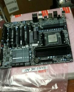 INDUSTRIAL Gigabyte AM3+ Motherboard  REV 002A  WITH 8GB RAM TESTED WORKING