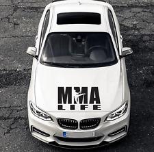 MMA is Life UFC Sport Motorhaube Auto Styling Tuning Aufkleber Sticker