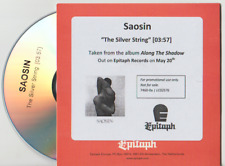 Saosin 'The Silver String' 1 Track PROMO CD (2016)