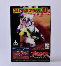 Supercross 3D Atari Jaguar Complete in Box