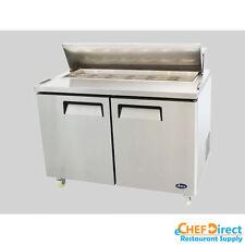 """Atosa MSF8302 48"""" Double Door Standard Top Sandwich Prep Unit"""