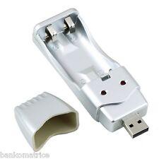 CHARGEUR USB POUR PILES  AA (LR6) AAA (LR03) LIVRAISON OFFERTE