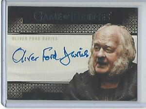 Game of Thrones Complete Series Oliver Ford Davies autograph (Valyrian)