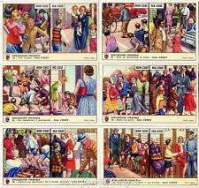 Figurine Lavazza serie n°135 Educazione Stradale ANNO 1957 Chromo