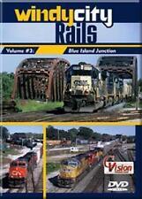 Windy City Rails Vol 3 Blue Island Junction DVD NEW Chicago CSX CN Metra CP UP