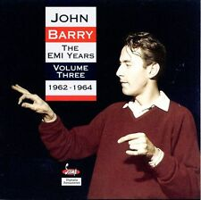 JOHN BARRY: The EMI Years Vol 3 1962-1964 CD James Bond Theme, Unreleased Tracks