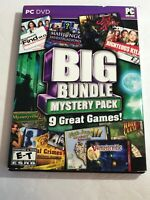 BIG BUNDLE MYSTERY PACK Hidden Object 9 PACK PC Game DVD-ROM