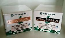 2x Yves Rocher Lifting Vegetal Soin Renausseur Jour Tag 50ml (Doppelpack) OVP