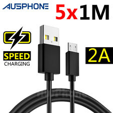 5X Micro USB Data Charger Cable for Samsung Galaxy S3 S4 S5 S6 S7 EDGE HTC Oppo