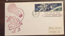 US Postal First Day of Issue Ed White Space Walk Cover Kennedy Cancellation