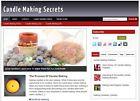 Candle Making  Affiliate Website Total  Profits  Free Hosting + Installation