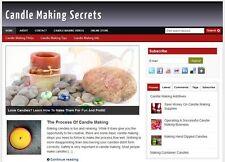 Candle Making Affiliate Website Total Profits Free Hosting Installation
