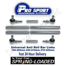 ProSport Front Adjustable Drop Link Kit for Fiat 500L (199) 0.9-1.6 i JTD 12-On