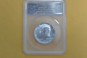 2014-D Kennedy 50th Anniversary ANACS SP70