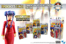 "Macross Robotech 4"" Figure 5 Pack with exclusive Lynn Minmei figure - 2018 SDCC"