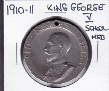 1910-1911 King George V London School Punctuality Medal