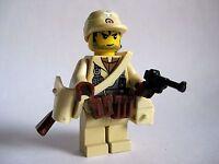 Lego Custom  AFRIKA KORPS WWII Minifigure Soldier- Brickforge WW2