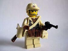Lego Custom GERMAN AFRIKA KORPS WWII Minifigure Soldier- Brickforge WW2