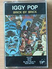 IGGY POP Brick By Brick STOOGES PHILIPPINES Paper Label Cassette