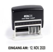 Eingang am: COLOP S120/P Stempel mit Datum Selbstfärber (Post Bestellung)[#1197]
