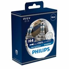 2x Philips H4 Racing Vision Halógeno 150% 12342RVS2