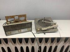 Mid Century Modern RCA Victor  Stereo Console Cabinet  Radio