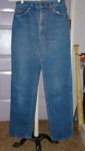 Women's  Vintage  Lee  Riders    high rise   Blue  Jeans  12 med