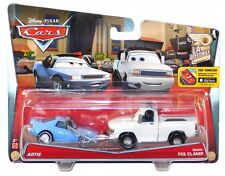 Disney Pixar Cars LA Speedway 10 & 11 of 11 Artie Brian Fee Clamp Diecast Set!