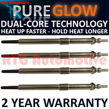 4x Diesel Heater Glow Plugs For Nissan Renault Vauxhall 2.5 CDTI DTI