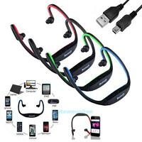 Wireless Bluetooth Stereo Headset Headphones Sports for iPhone iPod Samsung NEW