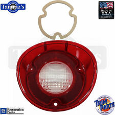 72 Chevelle Reverse Taillight Back Up Tail Light Lamp Lens w/ GASKET USA - RH
