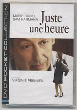 NEUF DVD JUSTE UNE HEURE COURT METRAGE DE VIRGINIE PEIGNIEN     BUNEL KARMANN