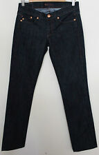 ROCK & REPUBLIC ~ US Label Dark Denim Straight Leg Dressy Jeans NWT 27 Aus 9