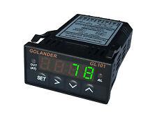 Universal 1/32DIN Digital  F/C PID Temperature Controller, Green