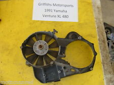 91 92 93 YAMAHA Venture XL VT480XL 88T OEM cooling fan w housing engine case