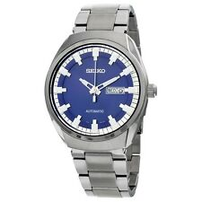 Seiko New RECRAFT SNKN41 Automatic Blue Dial Stainless Steel Men's Watch