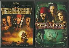 Pirates of the Caribbean 2 Pack: The Curse of the Black Pearl & Dead Man's Chest