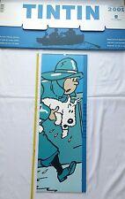 Calendrier de Luxe Tintin et Milou 2001 n°4000 EX / HERGE / MOULINSART / BD TT