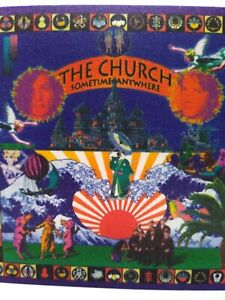 The Church Sometime Anywhere Backstage Concert Pass Original Rock Music 1994