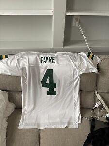 Reebok Green Bay Packers Brett Favre #4 Football Jersey Men's L