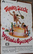 Used - Cartel de Cine  LA MITAD DE 6 PENIQUES  Vintage Movie Film Poster - Usado