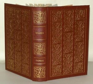 Henry David Thoreau - Walden - 1981  Easton Press Collectors Ed Leather