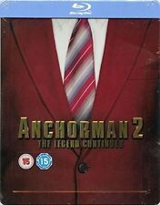 Anchorman 2 The Legend Continues Blu-ray Steelbook