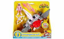 Power Rangers Fisher Price Imaginext Pink Ranger and Pterodactyl Zord BNIP