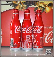 BOUTEILLE BOTTLE FLASCHE COCA COLA ALU ALUMINIUM JAPON TOKYO CITY